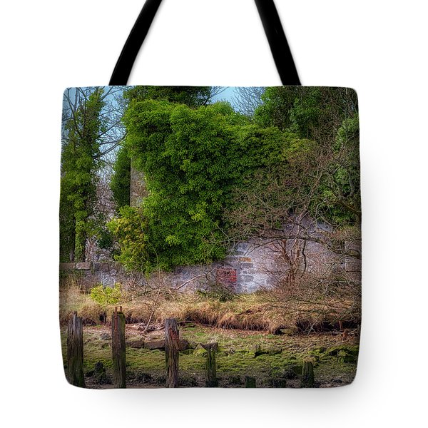 Tote Bag featuring the photograph Kennetpans Distillery Ruins by Jeremy Lavender Photography