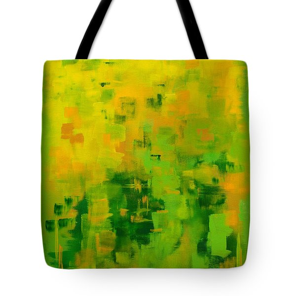 Tote Bag featuring the painting Kenny's Room by Holly Carmichael