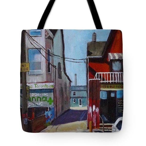 Kensington Market Laneway Tote Bag