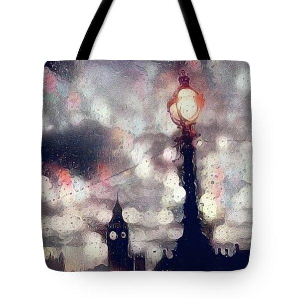 Kensington Rain Tote Bag