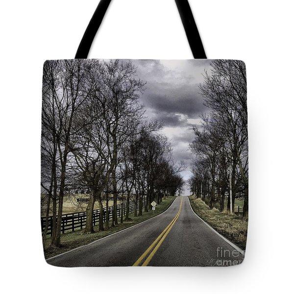 Kentucky Backroads Tote Bag