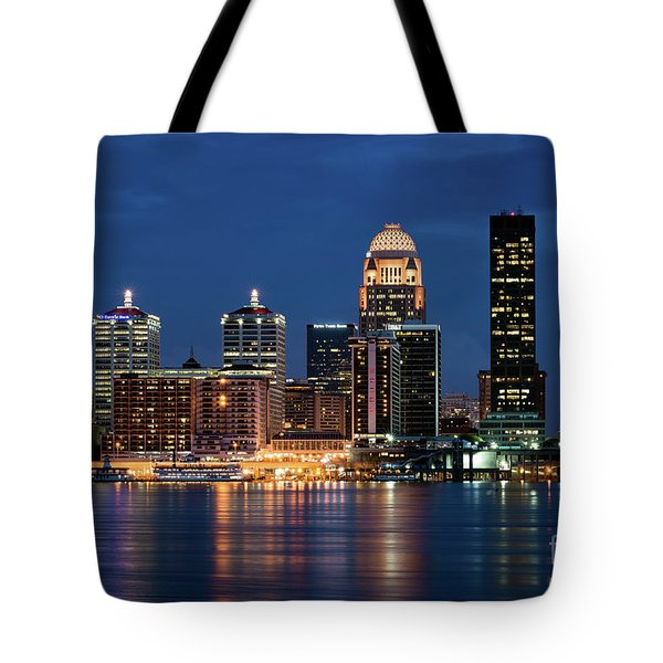 Tote Bag featuring the photograph Kentucky Blue by Andrea Silies
