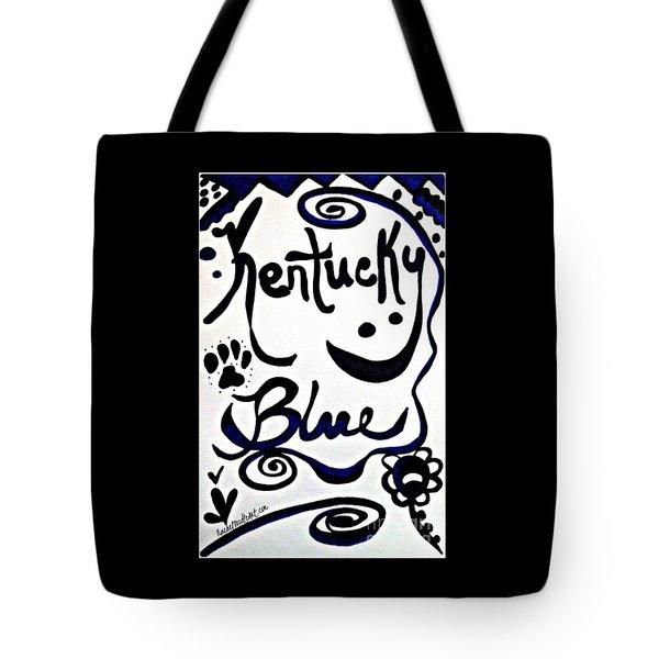 Kentucky Blue Tote Bag
