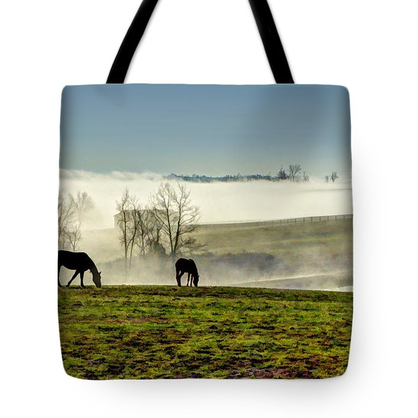 Kentucky Bluegrass Morning #1 Tote Bag