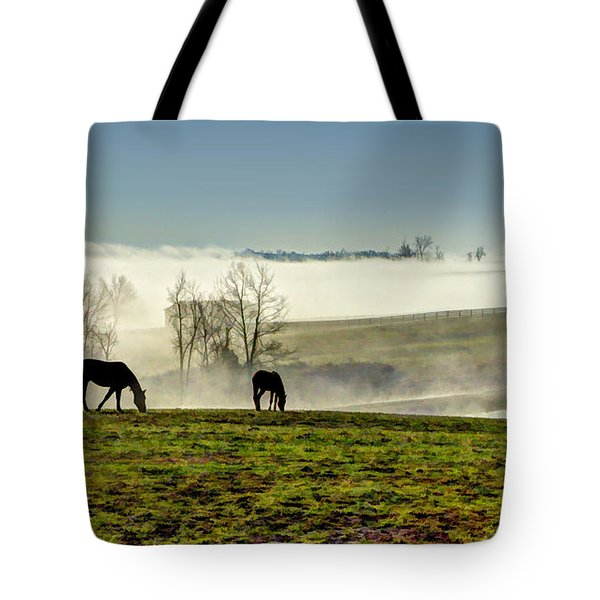 Kentucky Bluegrass Morning #1 Tote Bag