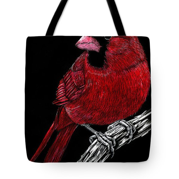 Kentucky Cardinal Tote Bag