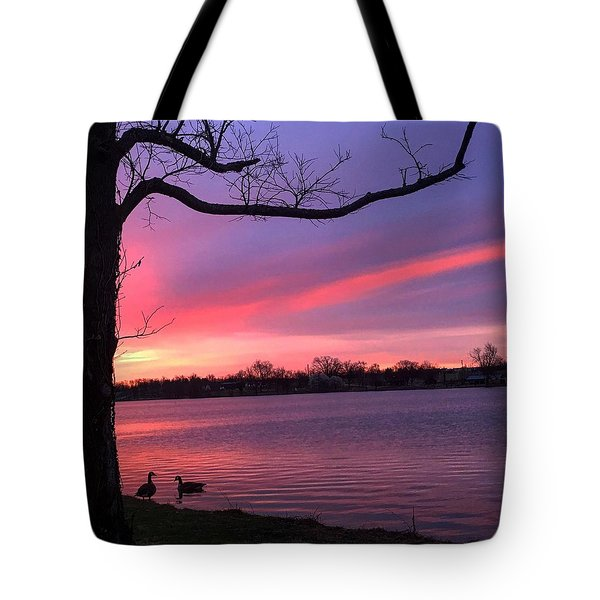 Kentucky Dawn Tote Bag by Sumoflam Photography