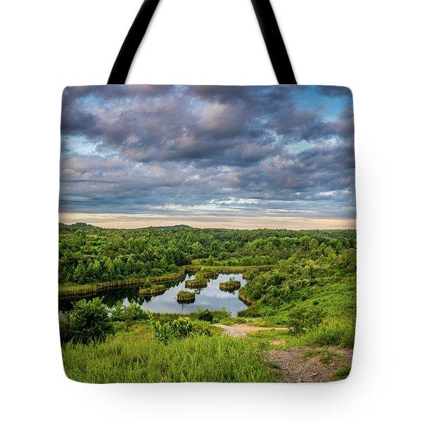 Kentucky Hills And Lake Tote Bag