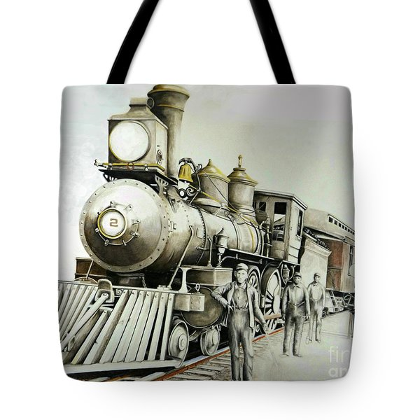 Kentucky Iron Horse Tote Bag