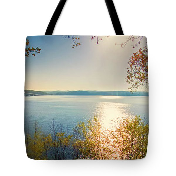 Kentucky Lake Tote Bag by Ricky L Jones