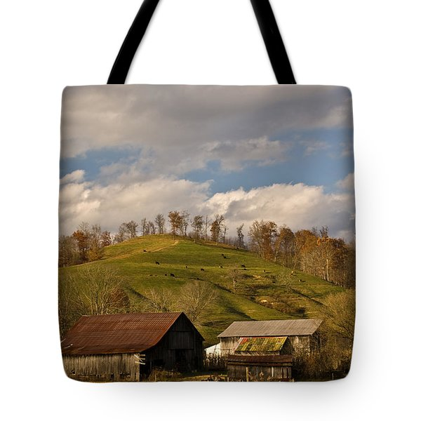 Kentucky Mountain Farmland Tote Bag