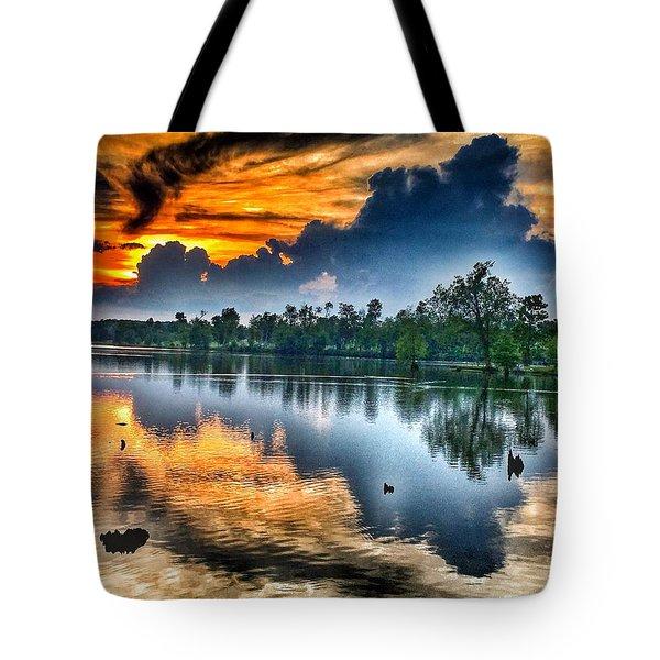 Kentucky Sunset June 2016 Tote Bag