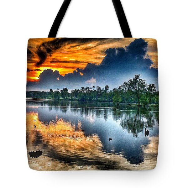 Kentucky Sunset June 2016 Tote Bag