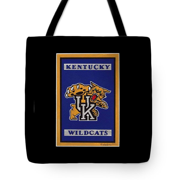 Ky Wildcats Logo T-shirt Tote Bag