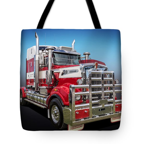 Tote Bag featuring the photograph Kenworth by Keith Hawley