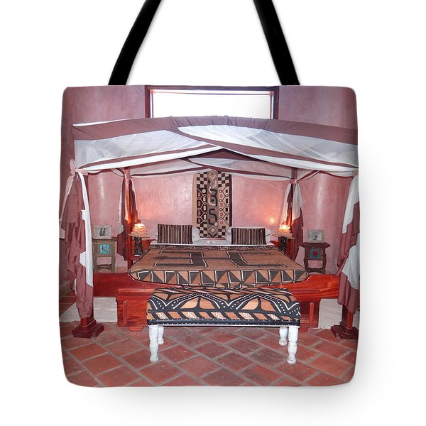 Kenyan African Traditional Double Bed Tote Bag