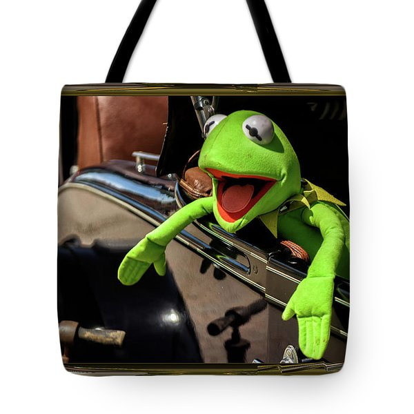 Kermit In Model T Tote Bag
