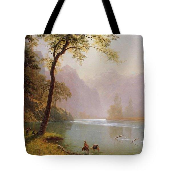 Kern S River Valley California Tote Bag