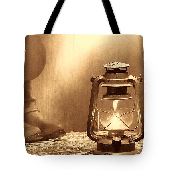 Kerosene Lamp Tote Bag