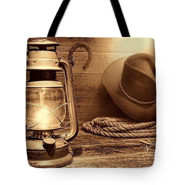 Kerosene Lantern Tote Bag