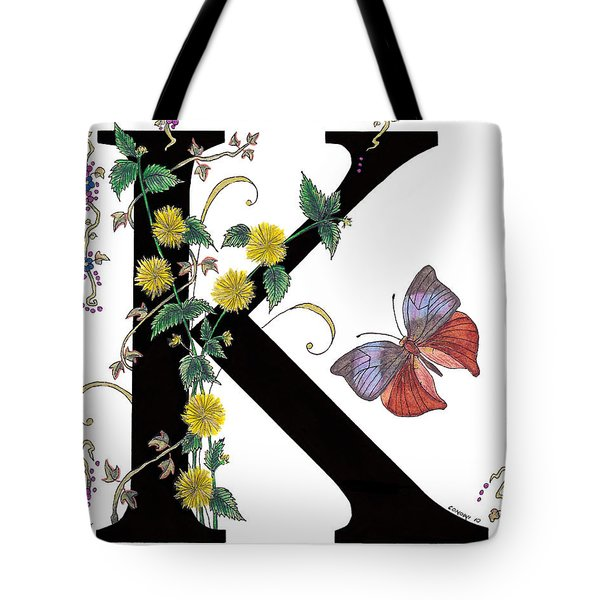 Kerria Japonica And Koh-i-noor Butterfly Tote Bag