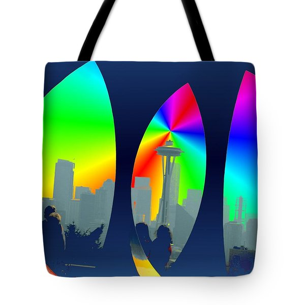 Kerry Needle 3 Tote Bag by Tim Allen