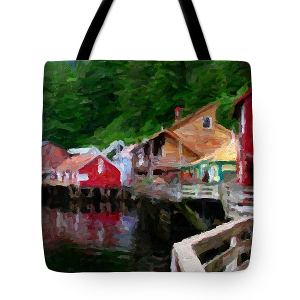 Ketchikan Alaska Tote Bag