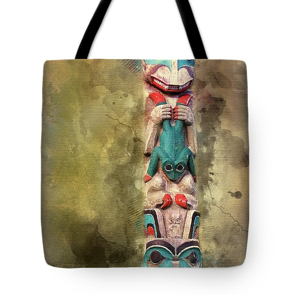 Ketchikan Alaska Totem Pole Tote Bag