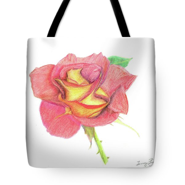 Ketchup And Mustard Rose Tote Bag
