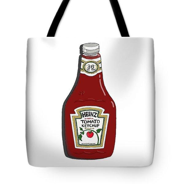 Ketchup Tote Bag