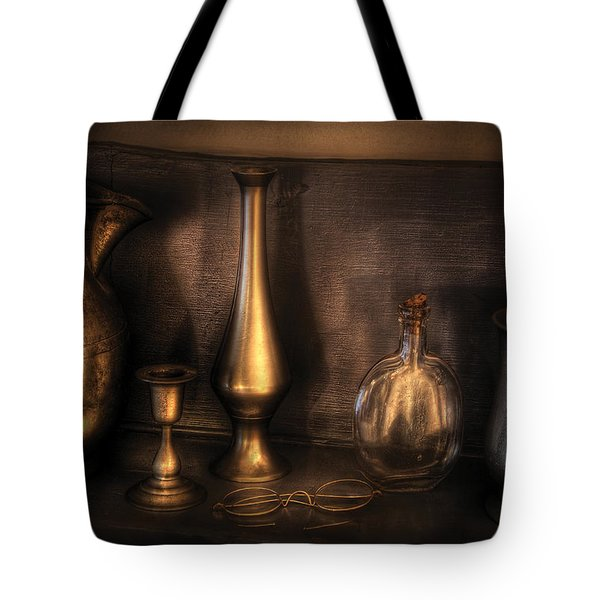 Kettle - Ready For A Drink Tote Bag by Mike Savad