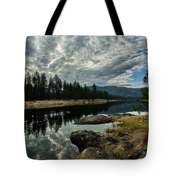 Kettle River At Barstow Tote Bag