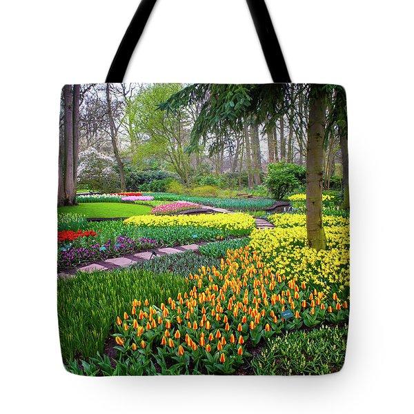 Keukehof Botanic Garden 2015 Tote Bag