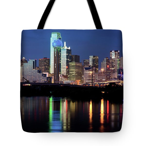 Kevin's Dallas Skyline Tote Bag