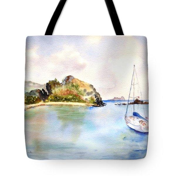 Key Bay, Peter Is. Tote Bag