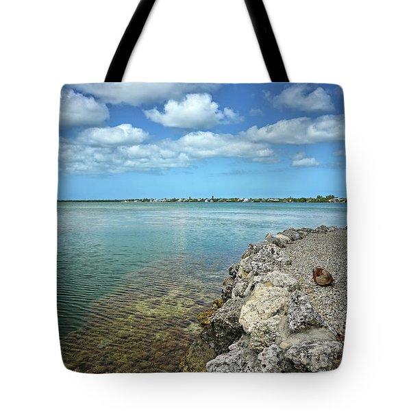 Key Canal Tote Bag by Kathi Mirto