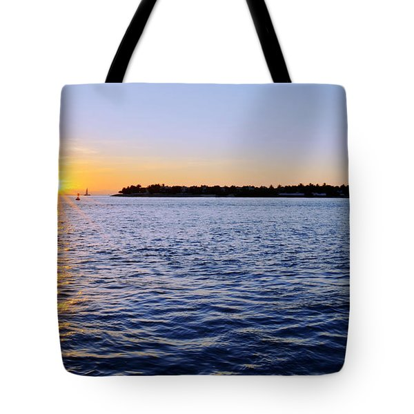 Tote Bag featuring the photograph Key Glow by Chad Dutson
