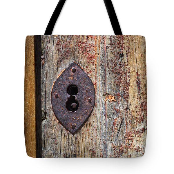 Key Hole Tote Bag by Carlos Caetano