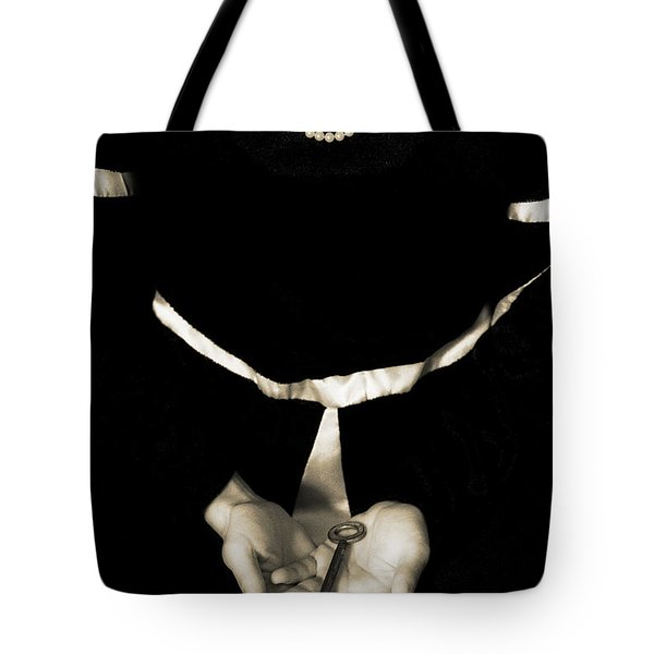 key Tote Bag by Joana Kruse