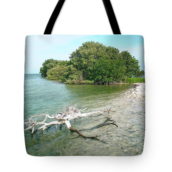 Key Largo Out Island Tote Bag