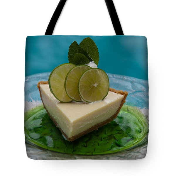 Key Lime Pie 25 Tote Bag