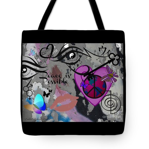 Key To Energy Of Peace  Tote Bag