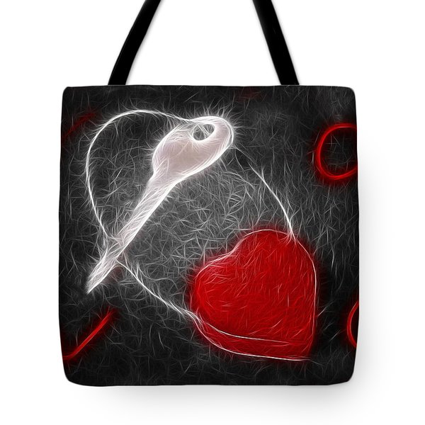 Key To The Heart Tote Bag