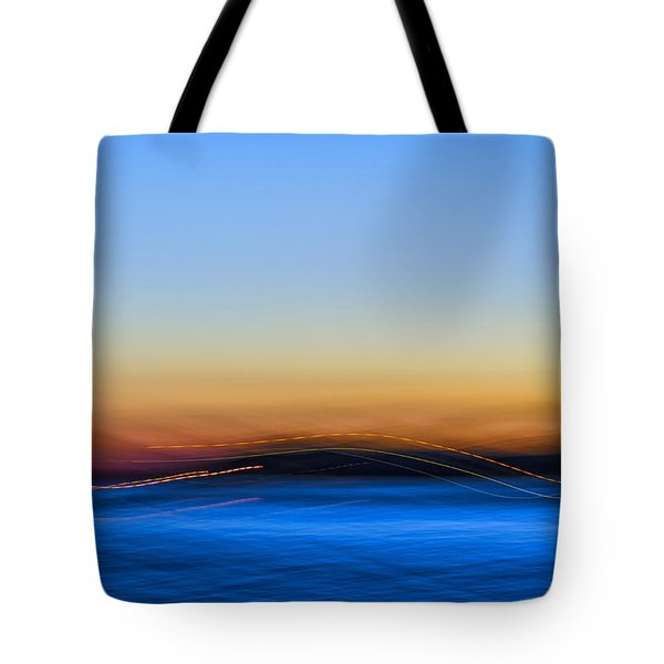 Key West Abstract Tote Bag