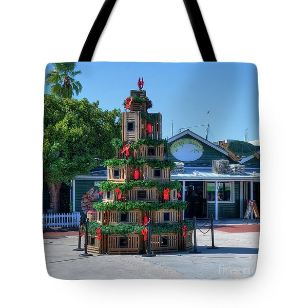 Key West Christmas Tote Bag