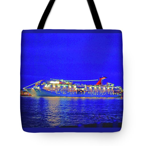 Key West Cruising  Tote Bag