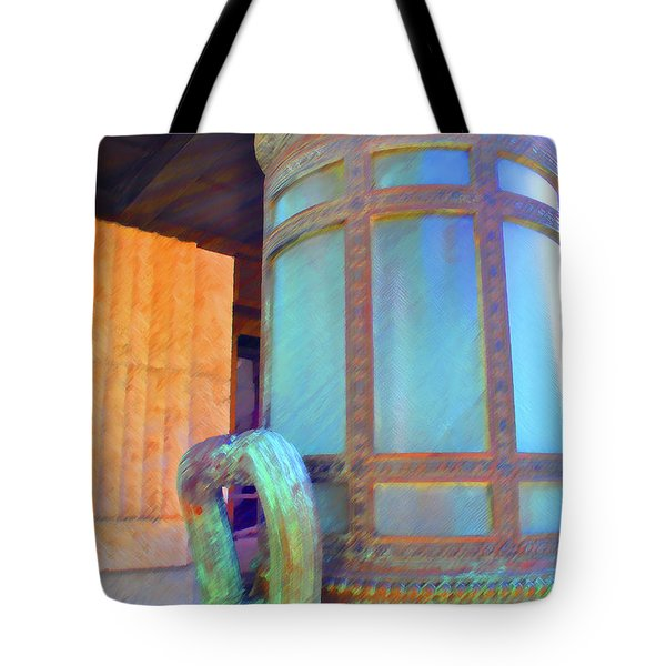 Tote Bag featuring the photograph Key West Federal by Jost Houk