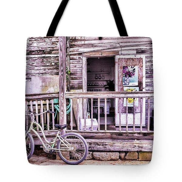 Key West Flower Shop Tote Bag