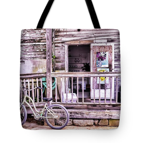 Key West Flower Shop Tote Bag