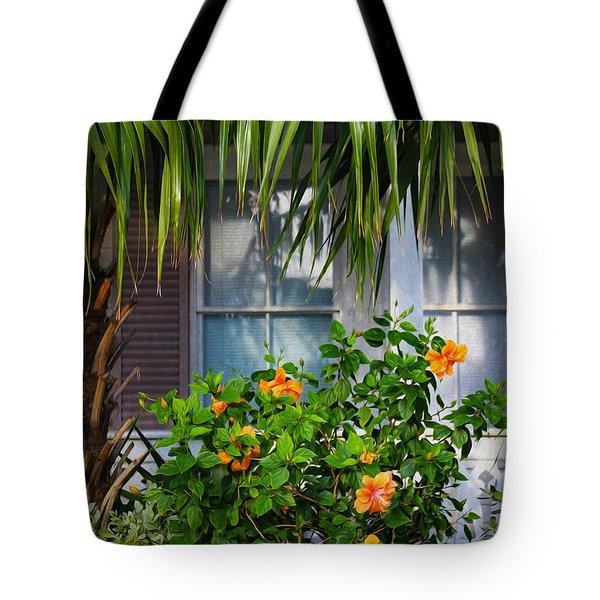 Key West Garden Tote Bag